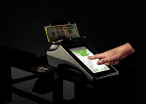 Tellermate Touch touchscreen cash counter